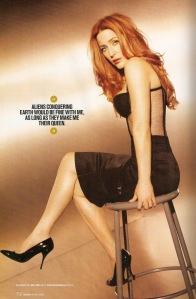 Gillian Anderson in Maxim.